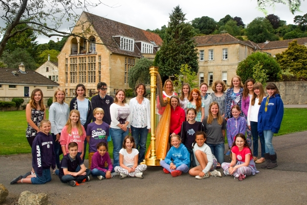 Junior Harp Course 2014: Tutors and Students