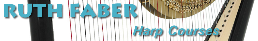 Ruth Faber Harp Courses