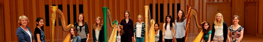 Masthead Image: teenage Harp Course